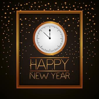 Frohes neues jahr feiern