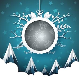 Frohes neues jahr frohe weihnachten.