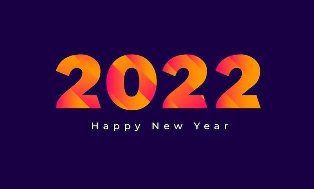 Frohes neues jahr kalender header 2022 grußkarte hintergrundvorlage
