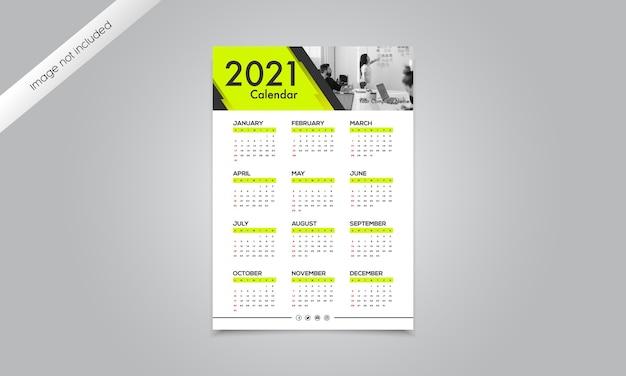 Frohes neues jahr kalender