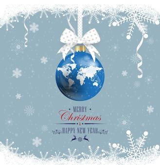 Frohes neues jahr und frohe weihnachten