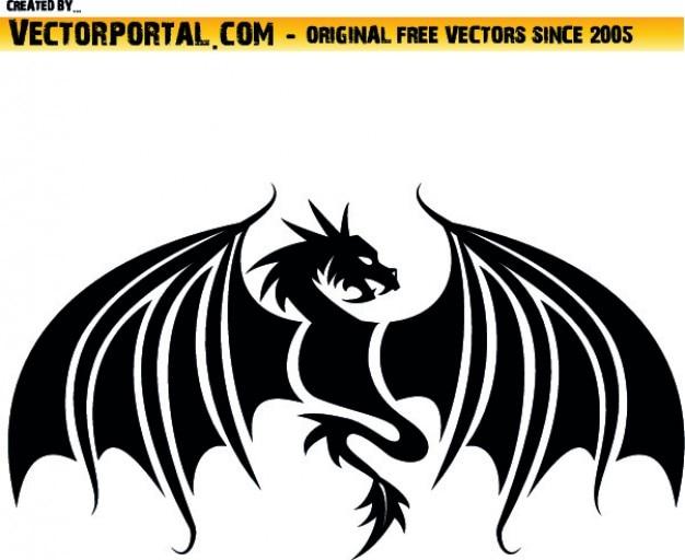 Frontal drachen form