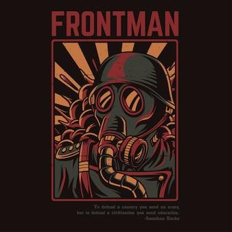 Frontmann soldat