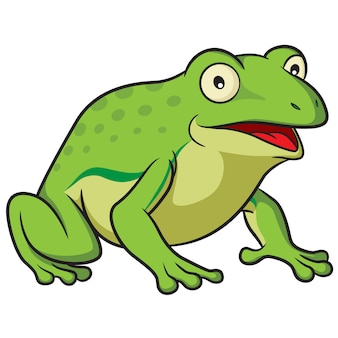 Frosch-cartoon