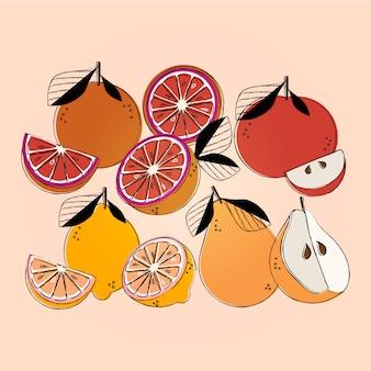 Frucht-illustration