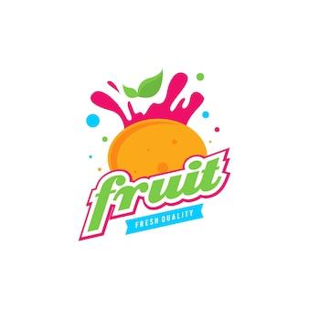 Frucht logo vorlage