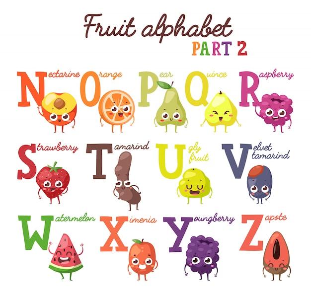 Fruchtalphabet