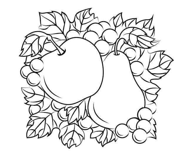 Fruchtdekoration