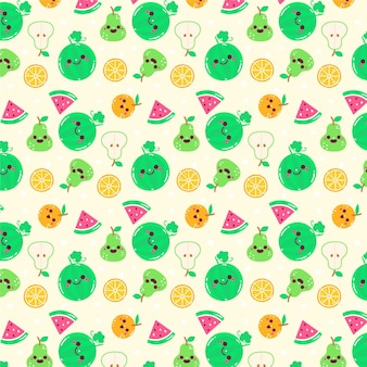 Fruchtmusterdesign
