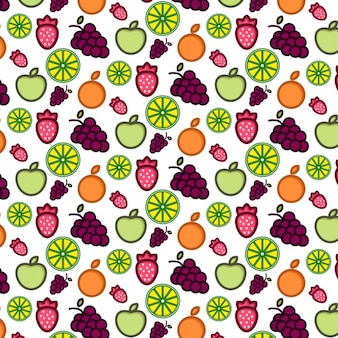 Fruchtmusterentwurf