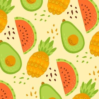 Fruchtmusterkonzept