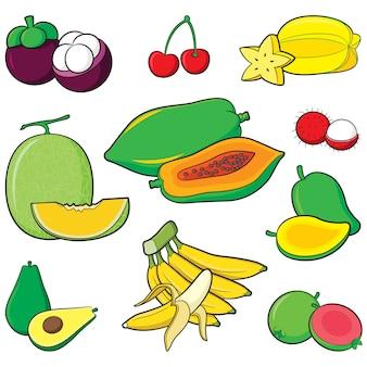 Früchte eingestellt