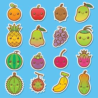 Früchte gesetzt