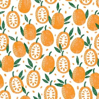 Früchte muster.