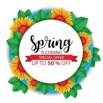 Frühling banner