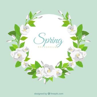 Frühling blumenrahmen