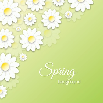 Frühling floral 3d illustration