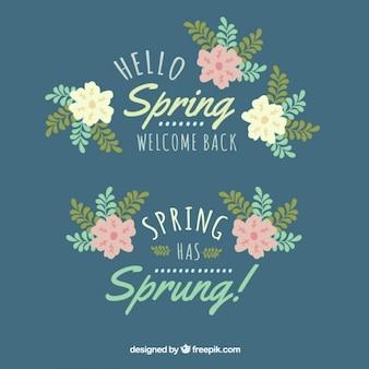 Frühlings-blumen-symbol