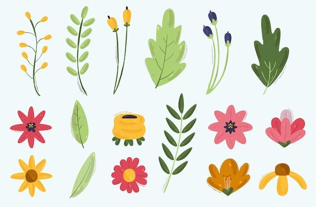 Frühlingsblumen illustration