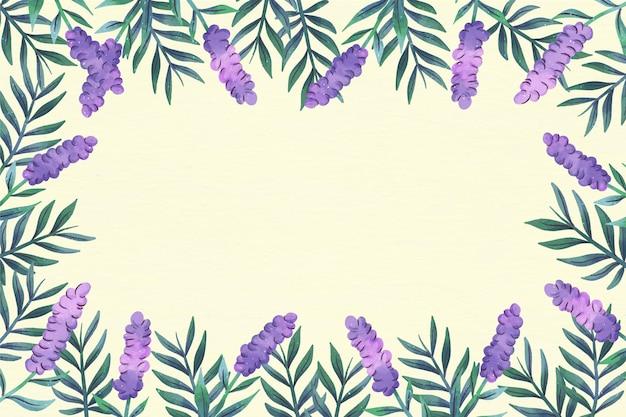 Frühlingsblumen kopieren raumblumenhintergrund