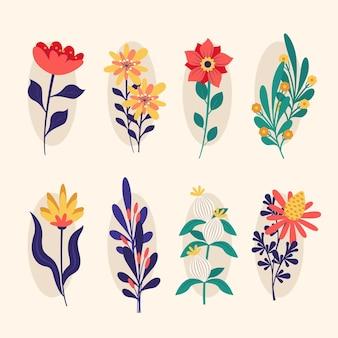 Frühlingsblumensammlung