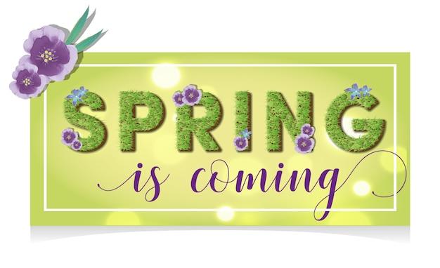Frühlingsfahne