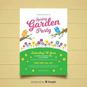 Frühlingsgartenparty