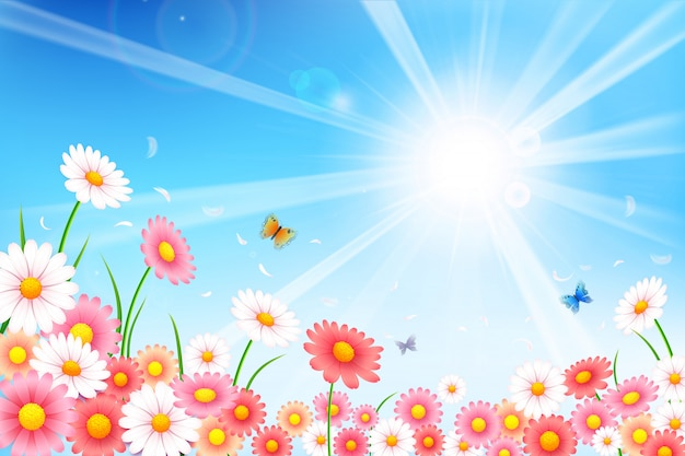 Frühlingshintergrund