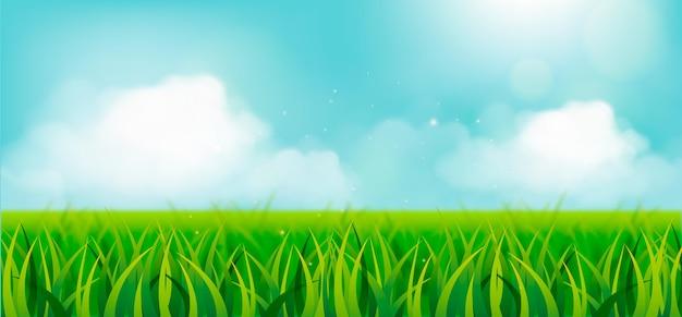 Frühlingslandschaftsszene