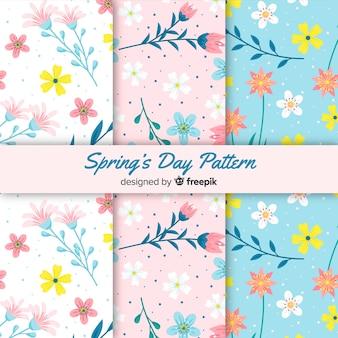 Frühlingsmuster-sammlung
