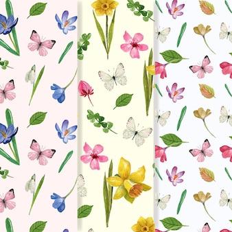 Frühlingsmusterkollektion