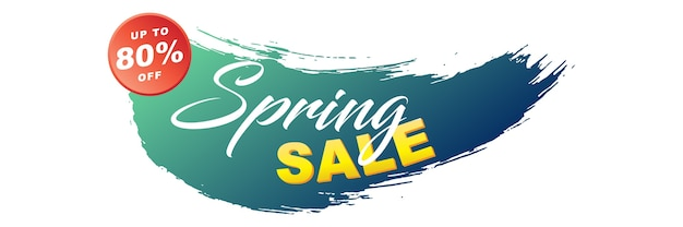 Frühlingsverkauf-banner