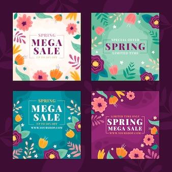 Frühlingsverkauf instagram beiträge