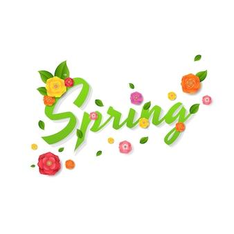 Frühlingsverkauf text