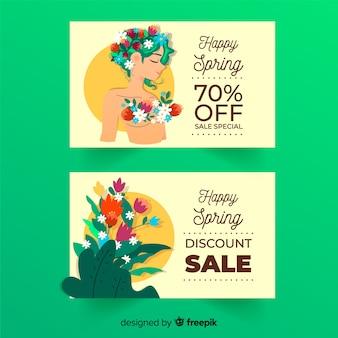 Frühlingsverkauf