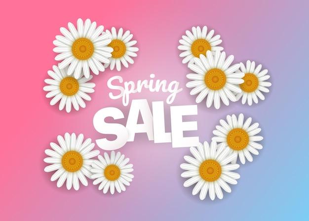 Frühlingsverkaufsangebot. saisonverkauf