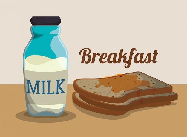 Frühstück essen design