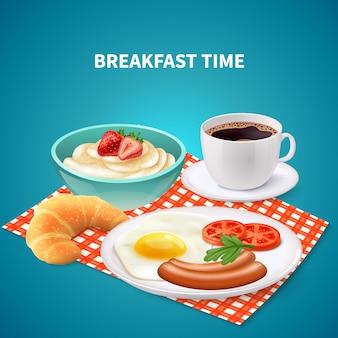 Frühstück realistisch