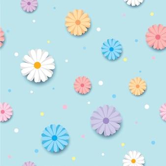 Frühling Blumenmuster
