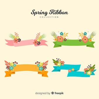 Frühlingsblumenbandkollektion