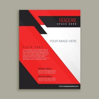 Ftylish business-flyer broschüre vorlage