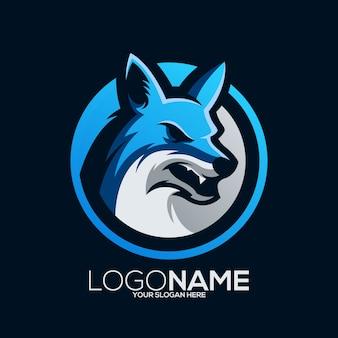 Füchse logo design