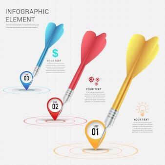 Fügen sie standort für aim.business infographic design hinzu.