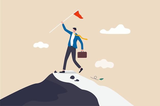 Führung, um das geschäftsziel zu erreichen