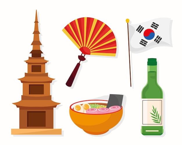 Fünf koreanische kulturikonen
