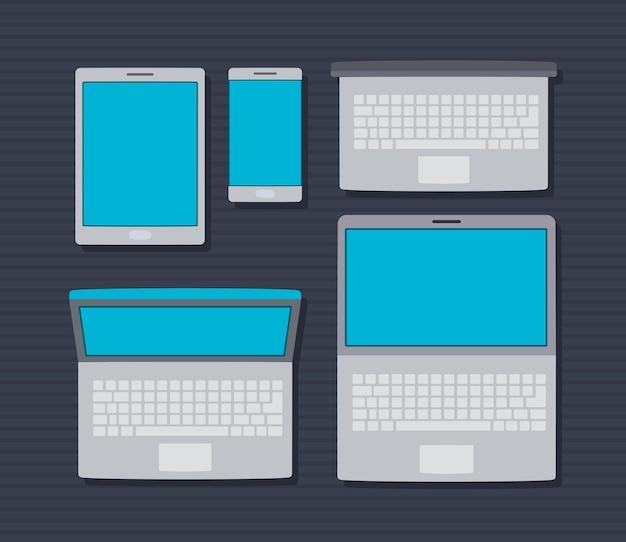 Fünf technologieeinheiten