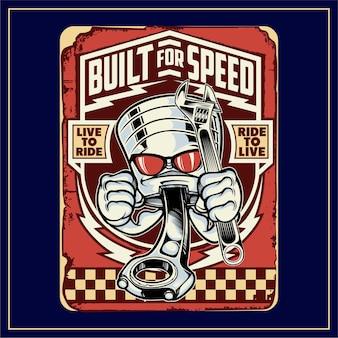 Für schnelligkeit gebaut