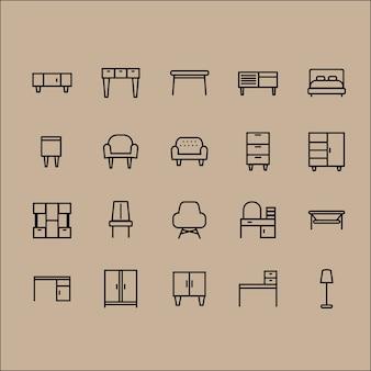 Funiture symbole