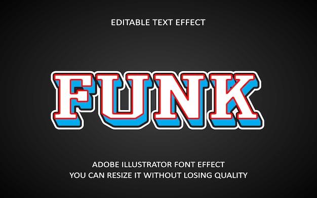 Funk bearbeitbarer texteffekt