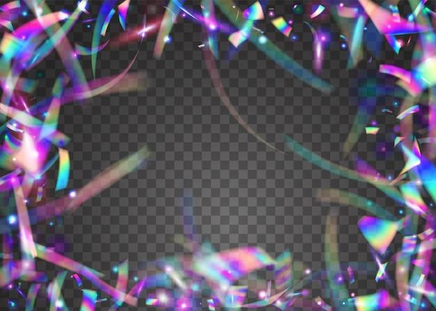 Funkeln. festliche kunst. glamour-folie. bokeh-lametta. violette unschärfe-textur